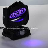 36X10W LED Wäsche-Summen-Stadium DJ-Disco-bewegliches Hauptlicht