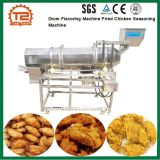 Linha de processo alimentar máquina de aromatizantes do tambor de frango frito temperando a máquina