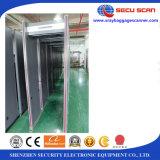 camminata esterna di uso tramite il metal detector AT-300A per il cancello del metal detector dell'assegno di obbligazione