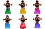 Гавайский танец хула костюм балет производительность гирлянда цветов детей в возрасте от рождения тропических купальный костюм, событий, отмечать украшения одежды юбки косплей