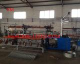 machine van de Omheining van de Link van de Ketting van de Draad van de Breedte van 4m de Volledige Automatische Dubbele
