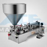 Máquina de enchimento fluida semiautomática da arruela da máquina/pára-brisa de enchimento do detergente líquido