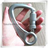 나사 (DS29-2)를 가진 황급한 훅 강철 잠그는 Carabiner