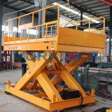 Table élévatrice hydraulique de ciseaux de 2 tonnes