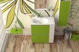 旧式な大理石の浴室用キャビネットの陶磁器の流しの固体表面の浴室の家具