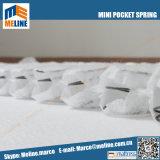 2018 mola Pocket da alta qualidade de Meline mini, mola Pocket Nano para o colchão, jogo do sofá