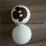 7 Cmの100%ウールドライヤーボール、ウールは洗濯乾燥機ボールをフェルト