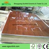 Pelle modellata impiallacciata del portello in Shouguang