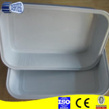 Coated liscio Airline Aluminium Foil Container per Inflight Catering