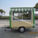 ヴァンCoffee Truck熱い販売の移動式アイスクリームのCateringのカートの譲歩のトレーラー