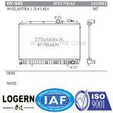 Radiador automático para a Hyundai Elantra/Lantra'90-95 Mt Dpi: 1624