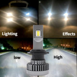 Alto faro dell'automobile H4 LED di lumen con la barra chiara di 60W LED Healight e del LED