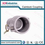 Tipo di alluminio montaggi di tubo flessibile del Camlock di C
