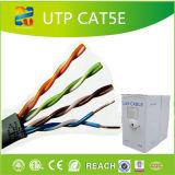 Le flet a réussi le câble LAN d'UTP Cat5e avec ETL