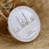 주물 3D 합금 주물 금속 연약한 사기질을%s 가진 주문 아연 합금 동전을 정지하십시오