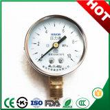 Haut de la qualité générale de 50 mm manomètre Manomètre avec bride de raccordement et en acier inoxydable