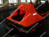 Tipo inflável do lazer do iate de 6 Liferafts das pessoas com embalagem de Valise ou SOLAS um recipiente do bloco