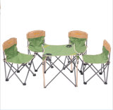 大きい携帯用屋外の余暇の緑の折りたたみ椅子