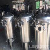 Huisvesting van uitstekende kwaliteit van de Filter van de Zak van het Roestvrij staal de Vloeibare voor Vloeistof