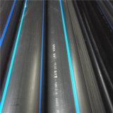 Tubo de plástico de HDPE grande (315mm, PN12.5) para águas residuais/água/óleo/gás