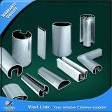 Form-Gefäß des Schlitz-Edelstahl-U für dekoratives