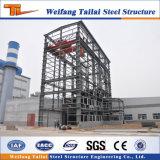 Entrepôt préfabriqué en acier de structure métallique de Chambre de poids léger chaud de vente
