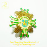 Custom магнитная лента назад металлическую пластину Китая поставщиками эмблемы контакт