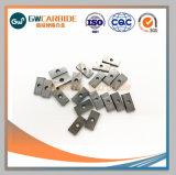 Insertos de carburo de tungsteno de sólidas herramientas de corte