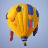 400kg de blauwe Commerciële Inflatables Bemande Hete Ballon van de Vlucht
