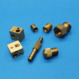 Auto Turning&CNC die Delen Copper&Brass machinaal bewerken