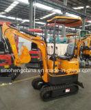 중국에서 소형 유압 크롤러 굴착기 공급자