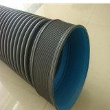 HDPE van de Prijs van de fabriek 300mm Double-Wall Pijpen van de Plooiing