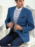 Jupe occasionnelle de 2017 de ressort de type hommes neufs de bleu royal