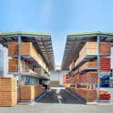 Im Freien Stahlspeicherc$doppelt-seite freitragendes Racking mit Dach