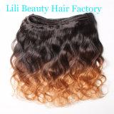 Gruppi brasiliani dei capelli umani dell'onda del corpo di Ombre di bellezza di Lili