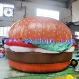 Riesiger Hamburger-aufblasbares Baumuster