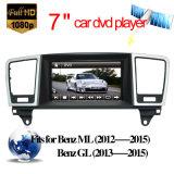Mercedes Benz Ml/Gl aluguer de DVD de navegação GPS de 7 com sistema Android 9.0 4GB de RAM 32g ROM Carplay antirreflexo