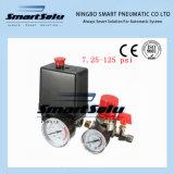 7.25-125 Psi Control 15A 240V/AC Compressor de Ar do Interruptor de Pressão