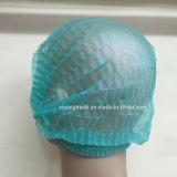 Chapeau médical remplaçable de clip avec l'élastique simple et double