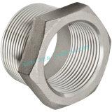Cassete hexagonal macho com rosca de aço inoxidável (MXF)