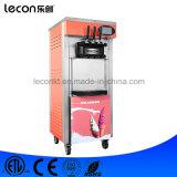 2017年Leconの柔らかい2+1の味のアイスクリーム機械、床モデルの
