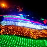 2*3m 204LED maken LEIDEN Netto Licht met de Controle van 8 Functie waterdicht