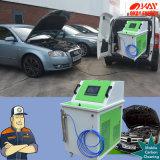 La limpieza del garage del coche mantiene la limpieza de vapor del motor de Hho de las máquinas