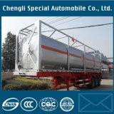 45kl 38mt Leverancier 3 de Aanhangwagen van de Container van de Tank van Assen 40FT ISO