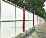 Structure en acier solide durable assemblés clôture et le rail de protection en métal