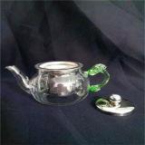 Рассекателя чая сопротивления жары бак чая стеклянного миниый