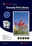 SGS auditado Cast Coated Glossy Photo Paper (GTC-D)