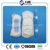Garniture de maternité de garniture puerpérale épaisse élevée d'absorption sans ailes