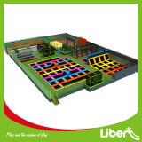 Парк Trampoline занятности высокого качества большой крытый с мягкой зоной игры