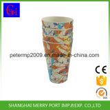 Eco-Friendly Bamboo кувшин чая питьевой воды волокна с бортовыми ручкой и крышкой